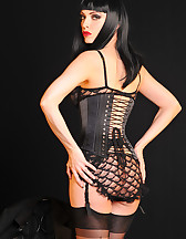 Gothic sensual tease