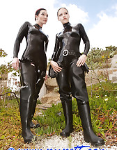 Subtropical latex sluts