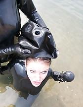 Latex swimming