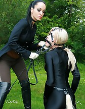 The training of ponygirl Nina Jay