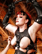 The 'Creature' leather harness