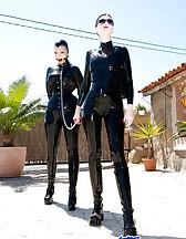 Mistress and slave arrived