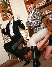 Mature riding ladies