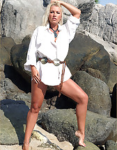 Bitch on a beach