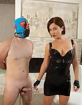 Goddess Ella's Cock and Ball Torture!