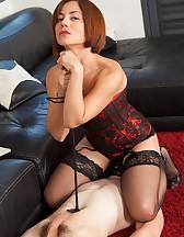 Mistress Ella Sitting on Her Slave's Face!