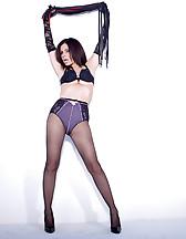Sex slave posing