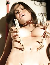 Ashley gets pinch torture