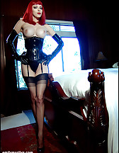 Corset and stockings