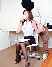 Captured secretary