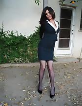Office lady bound