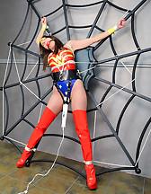 Spider web bondage
