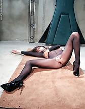Nylon bodysuit