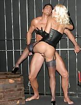 Sexy blonde Mistress