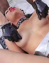 Slave girl fucked outdoors, pt.2