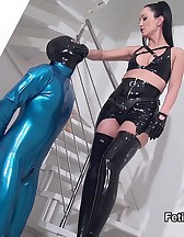 Rubber Strap-on Training