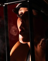 Double Domme Smoking, pic #11