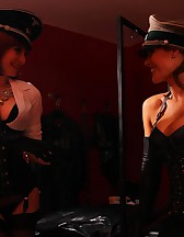 Double Domme Smoking, pic #4