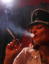 Double Domme Smoking, pic #10