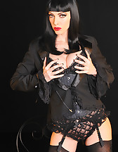 Gothic sensual tease, pic #5