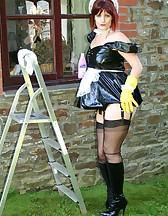 PVC Maid Slut, pic #11