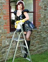 PVC Maid Slut, pic #7