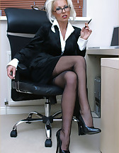 Office slut, pic #1
