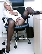 Office slut, pic #12