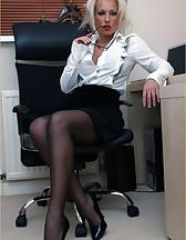 Office slut, pic #2