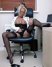 Office slut, pic #5