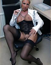 Office slut, pic #8