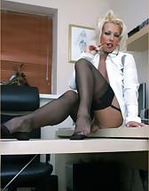 Office slut, pic #10