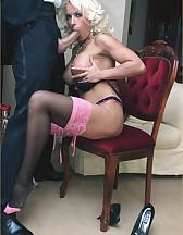 Lana Cox sucks cock, pic #6