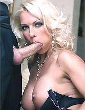 Lana Cox sucks cock, pic #8