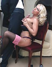 Lana Cox sucks cock, pic #10