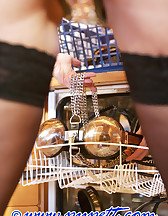 Locked herself in chastity, pic #13