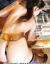 Locked herself in chastity, pic #9