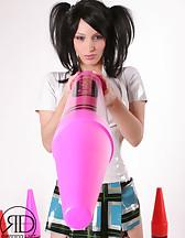Kinky Latex Schoolgirl, pic #4
