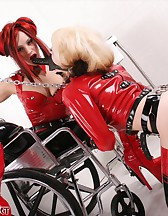 Girl-Girl Rubber Domination, pic #13