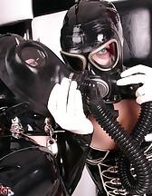 Gasmask Girls, pic #2