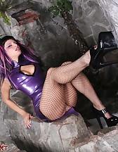 Kinky Rubber Dildo, pic #4