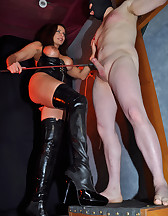 Syringing Sperm From My Slave, pic #2