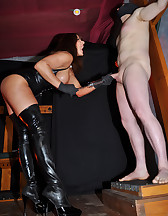 Syringing Sperm From My Slave, pic #9