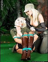 Jungle bondage, pic #1