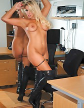 Long Leather Boots, pic #12