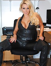 Long Leather Boots, pic #2