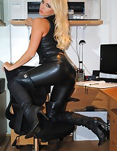 Long Leather Boots, pic #4