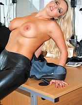 Long Leather Boots, pic #7