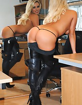 Long Leather Boots, pic #8