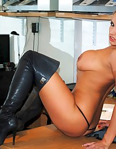 Long Leather Boots, pic #10